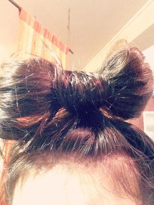 特徴的なヘアスタイル2