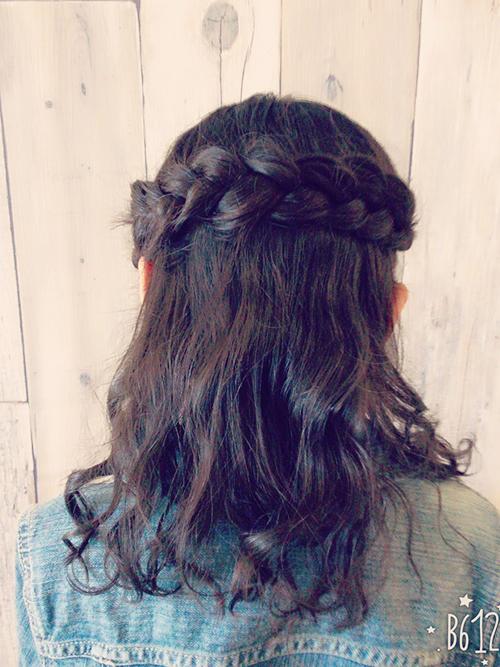 特徴的なヘアスタイル3